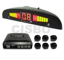 6 Sensor Front and Rear Audio Buzzer with LED Display Kit SB316-6